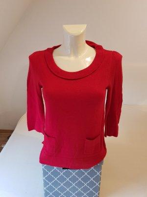 Anne L. Kraagloze sweater rood