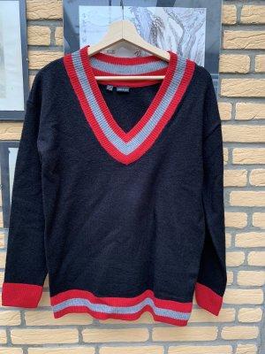 BODY FLIRT Sweter z dzianiny Wielokolorowy