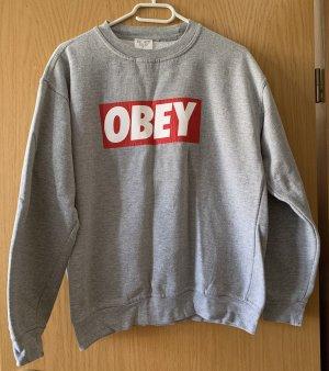 obey Crewneck Sweater multicolored