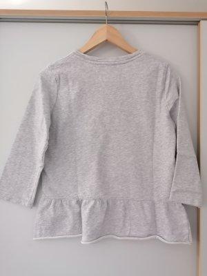 Pullover, grau-meliert, Gr. S, Denim