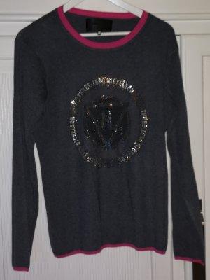 Crewneck Sweater grey-pink