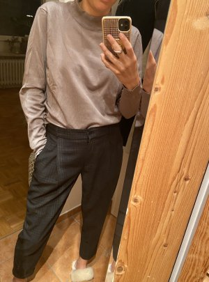H&M Turtleneck Sweater silver-colored-grey