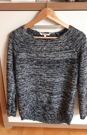 Clockhouse Crochet Sweater black-dark grey