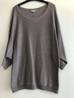 Blue Motion Oversized Sweater grey brown