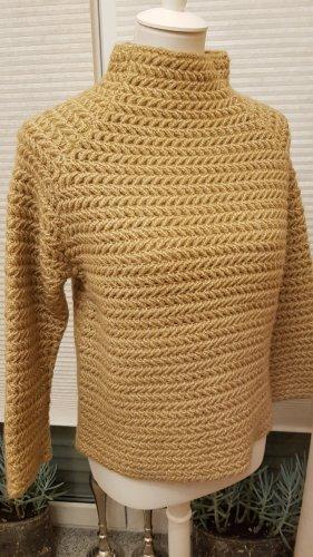 Pullover Grobstrick mit Schildkrötkragen Gr. M