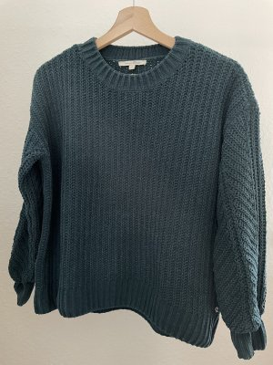 Pullover grün chenille Tom Tailor Denim