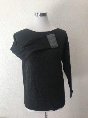 H&M Lange jumper grijs-lichtgrijs