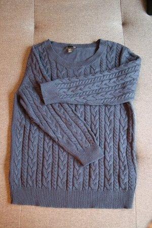 Pullover ~ H&M ~ Größe M ~ blau