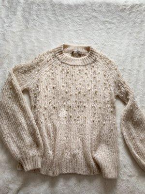 Hallhuber Sweter oversize kremowy
