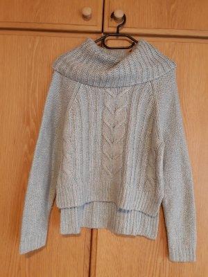 Pullover hell blau + beige
