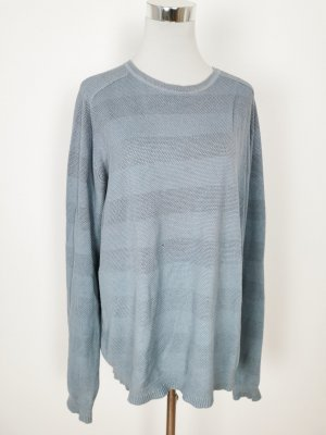 Pullover hellblau grobstrick
