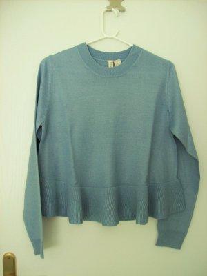 H&M Divided Crewneck Sweater light blue