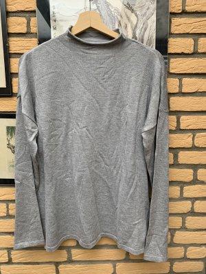 BODY FLIRT Cienki sweter z dzianiny jasnoszary