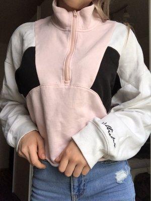 Pullover Hollister mit hohen Kragen und Reisverschluss