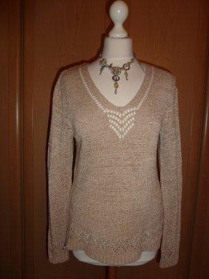 Adagio Crochet Sweater light brown