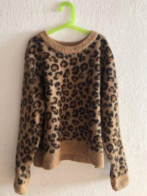 Pullover in animalprint
