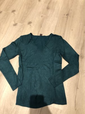 Pullover in dunkelgrün