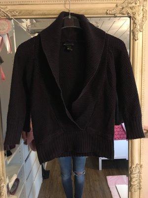 Pullover in dunkellila von Mango Größe XS