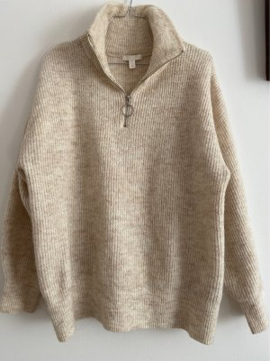 H&M Norwegian Sweater cream-beige