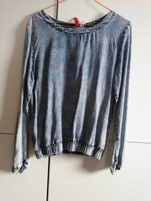 Pullover in Jean's Optik 36 H&M