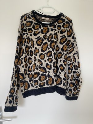 Pullover in Leopardenmuster