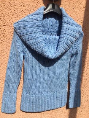 Pullover in Pastellfarben blau