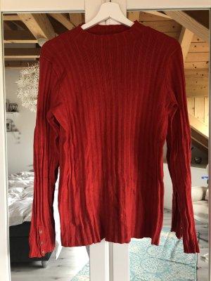 Pullover in rot von Saint Tropez