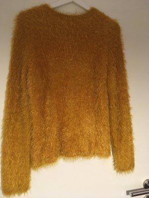 Pullover in Senf
