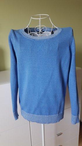 Pullover in Stahlblau