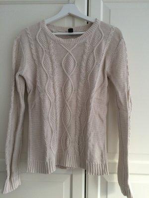 Pullover in Strickoptik
