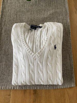 Ralph Lauren Sport Jersey trenzado blanco