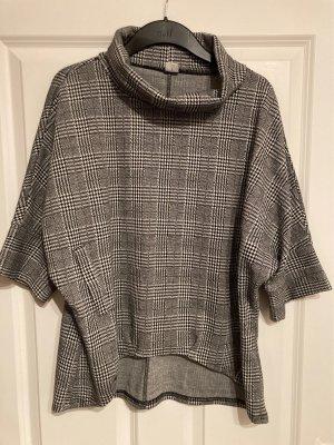 17&co Oversized Sweater black-white