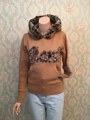 Karl Kani Hooded Sweater light brown-brown