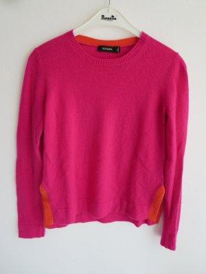 Max & Co. Pullover in cashmere rosa-arancione Cachemire