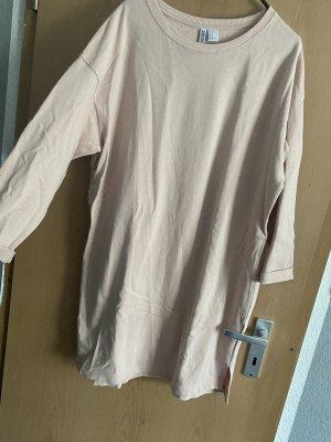 H&M Vestido tipo jersey rosa