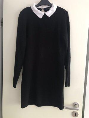 Atmosphere Robe pull noir-blanc