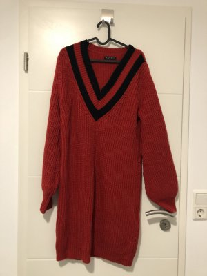 New Yorker Long Sweater red-black