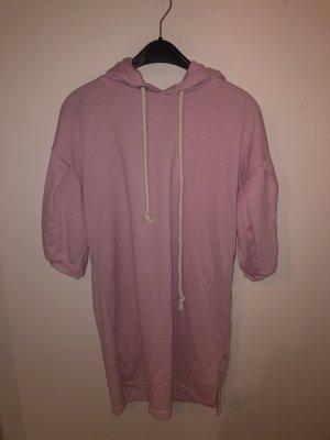 Bershka Robe à capuche rose