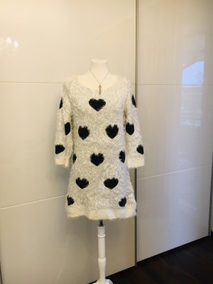 bpc selection Long Sweater black-white