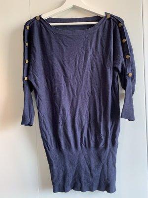 Esprit Vestido tipo jersey azul oscuro