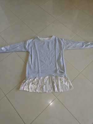 Zara Sweater Dress silver-colored