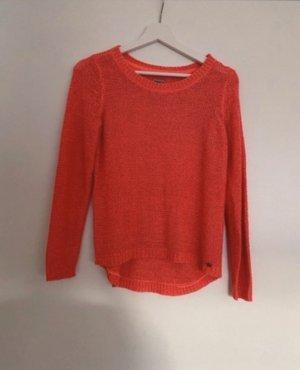 Pullover Korallenrot