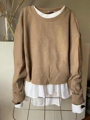 Pullover, Kurzgeschnitten Zara Bluse ebenso zu verkaufen