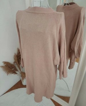 B/W Zara Collection Sweaterjurk roségoud
