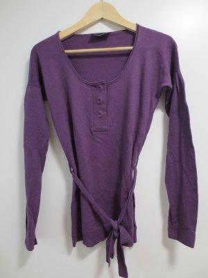 Patrizia Pepe Sudadera de cachemir violeta oscuro