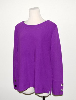 Bianca Crewneck Sweater lilac viscose