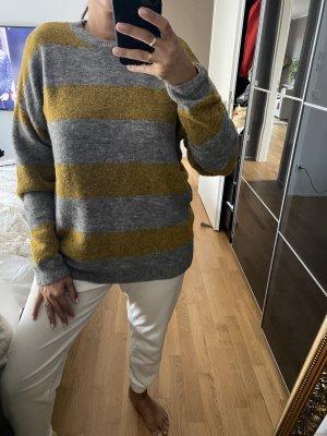 Karen by Simonsen Crewneck Sweater grey-sand brown