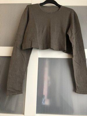 Pullover M grau