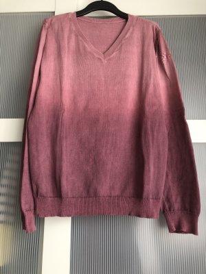 Keine Marke V-Neck Sweater multicolored