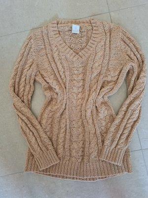Madeleine Warkoczowy sweter Wielokolorowy